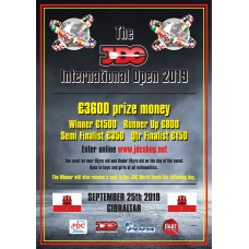 JDC International Open 2019 Entry